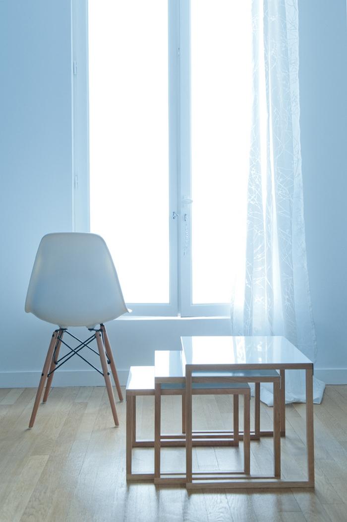 Раскладной журнальный столик и кресло