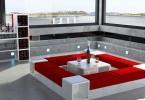 Модульная конструкция в гостиной