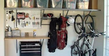 Организация пространства в гараже