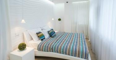 Маленькая красивая спальня