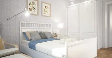 Интерьер женской спальни