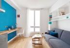Интерьер маленькой гостиной в светлых тонах