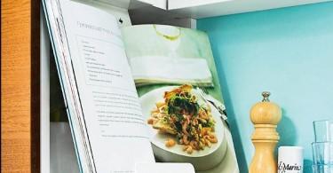 Оформление кухни в бирюзовом цвете