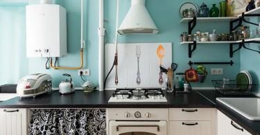 Интерьер функциональной маленькой кухни