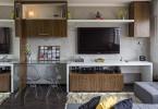 Трансформируемая мебель в интерьере гостиной