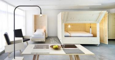 Скрытые спальные места в гостиной