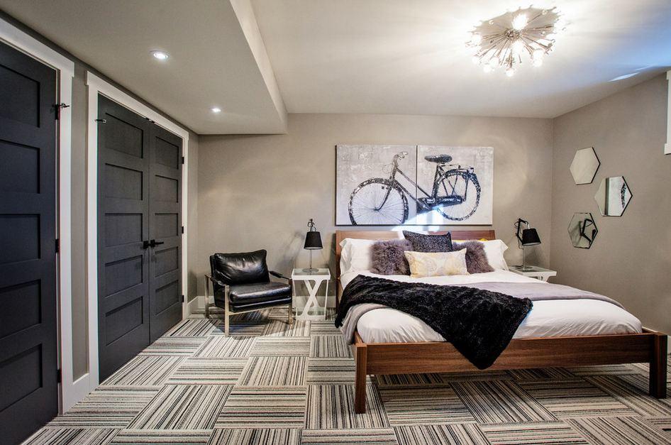 Комната отдыха на цокольном этаже