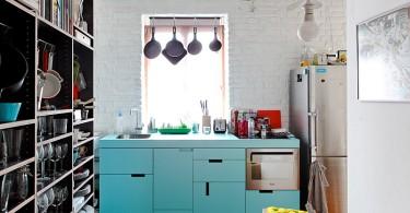 Интерьер кухни в малогабаритной квартире
