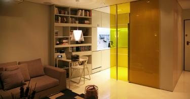 Интерьер гостиной в современной квартире