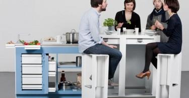 Мобильная компактная кухня