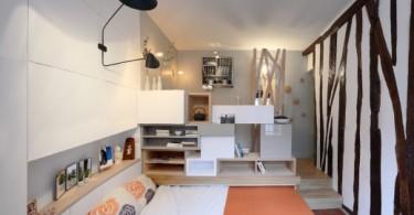 Интерьер малогабаритной квартиры-студии