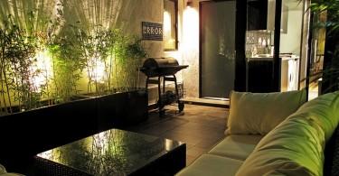 Гостиная в узкой малогабаритной квартире