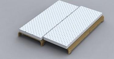 Многофункциональная Duo-кровать от Max Germano