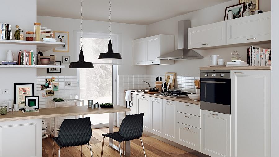 Красивые интерьеры малогабаритных кухонь