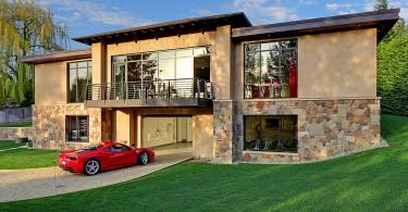 Роскошное жилое помещение в гараже