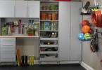 Интерьер мастерской в гараже