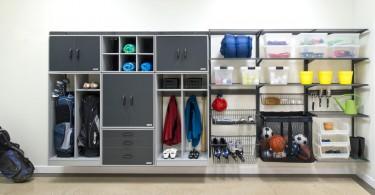 Эффективная система хранения в гараже