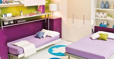 Кровати-трансформеры в интерьере детской