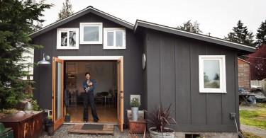 Творческая министудия в гараже