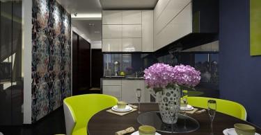 Интерьер небольшой современной кухни