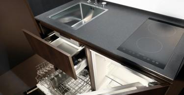 Мобильный функциональный кухонный гарнитур