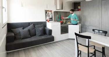 Функциональный интерьер малогабаритной квартиры
