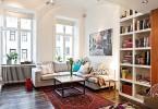 Интерьер гостиной в малометражной квартире