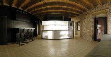 Интерьер студии в стиле минимализм