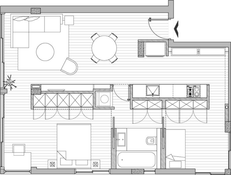 Планировка квартиры в Израиле