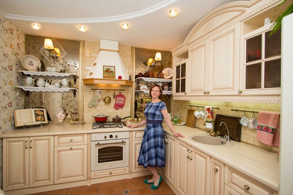 Сделать ремонт в кухне  фото 29