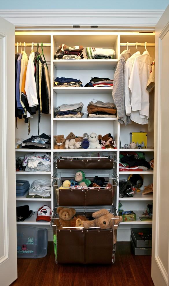 Укомплектованная гардеробная