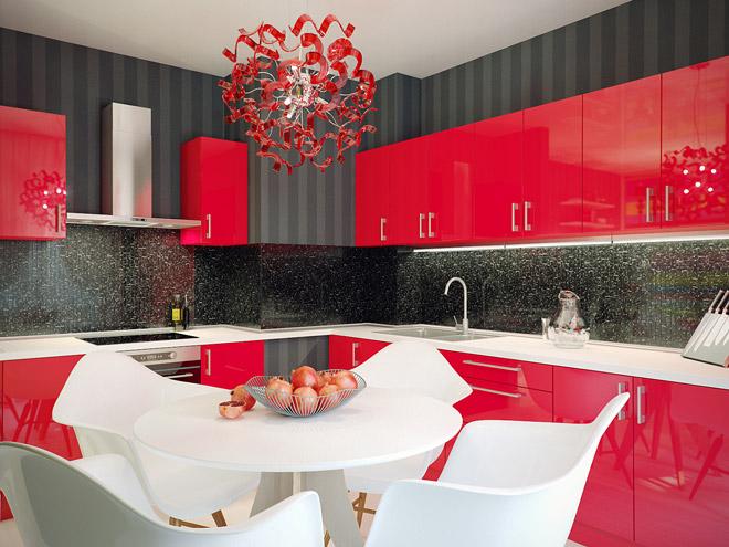 Дизайнерские решения для маленькой кухни