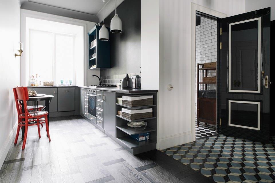 Дизайнерский интерьер кухни