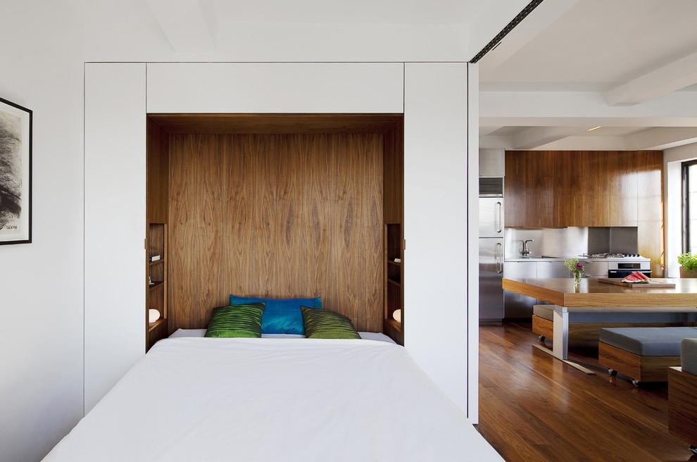 Деревянное изголовье подъемной кровати