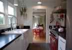 Идея организации пространства в узкой кухне