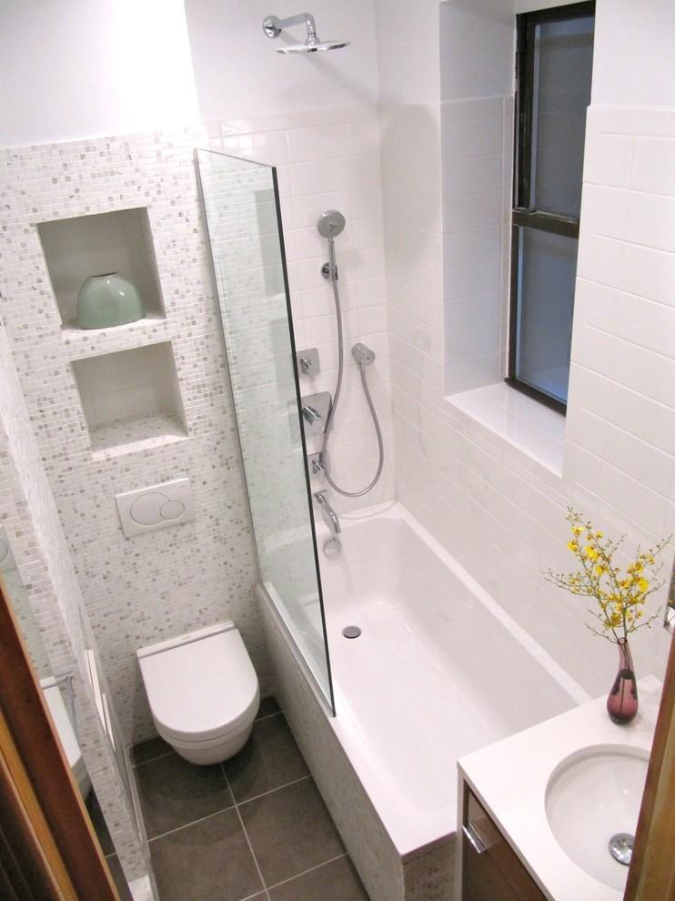 Высокие потолки в ванной
