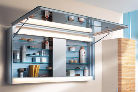Contemporary bathroom mirrors