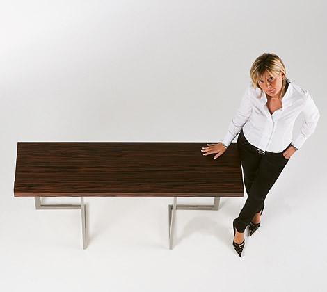 Обеденный консольный столик
