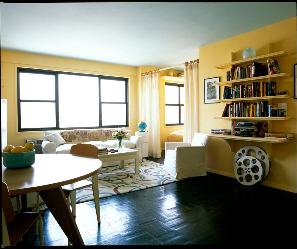 Интерьер квартиры для девушки в Нью-Йорке