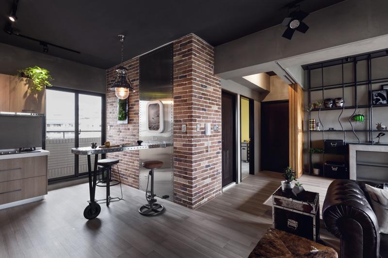 Дизайн интерьера жилого комплекса Bachelor`s Apartment