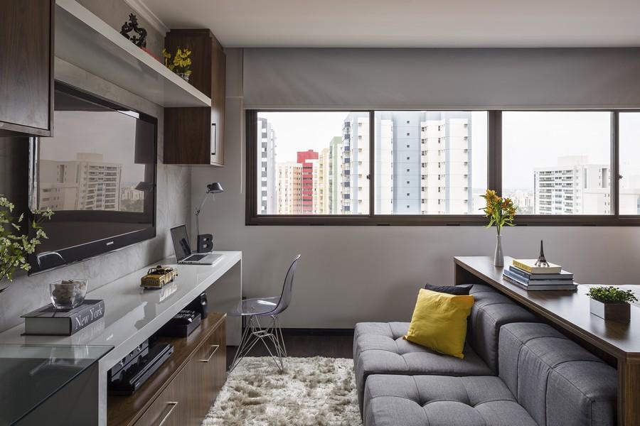 Вид из окон небольшой квартиры в Бразилии