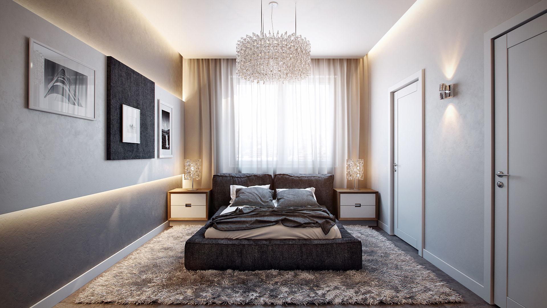 Дизайн спален в 3д