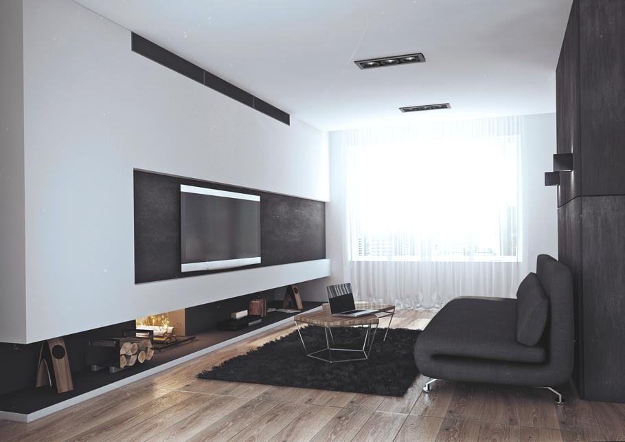 Интерьер квартиры для успешного холостяка в России