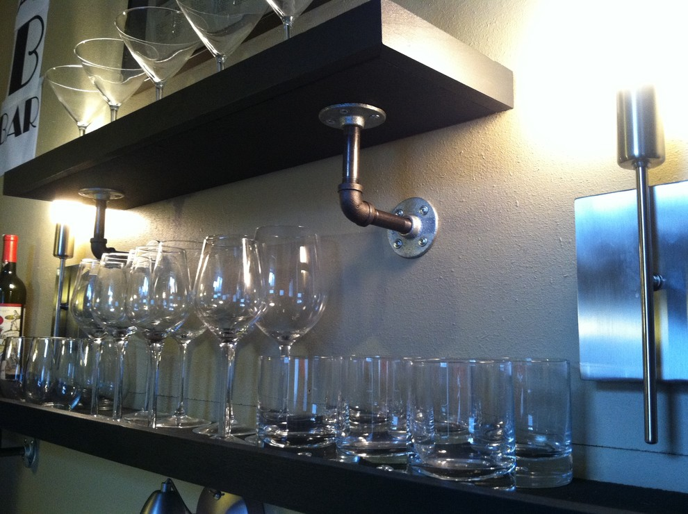 Полки для бокалов и стаканов