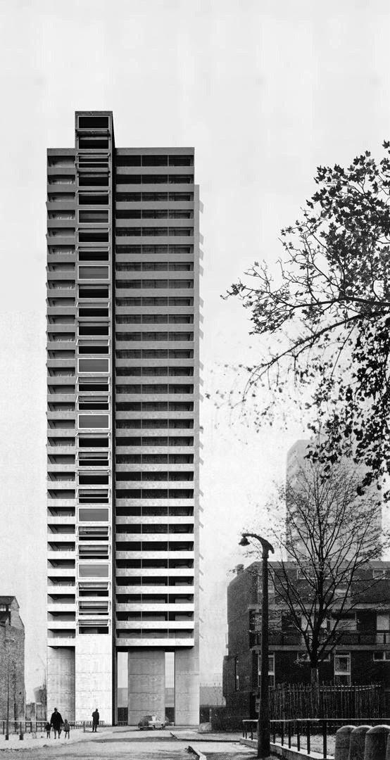 Экстерьер башни в Лондоне