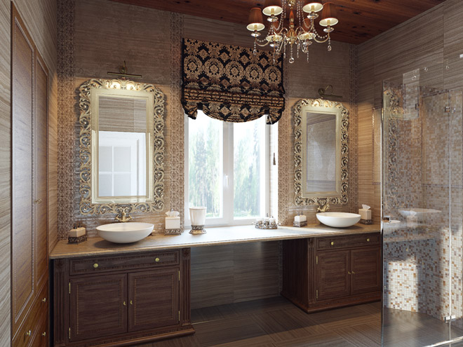 Дизайн интерьера маленькой ванны
