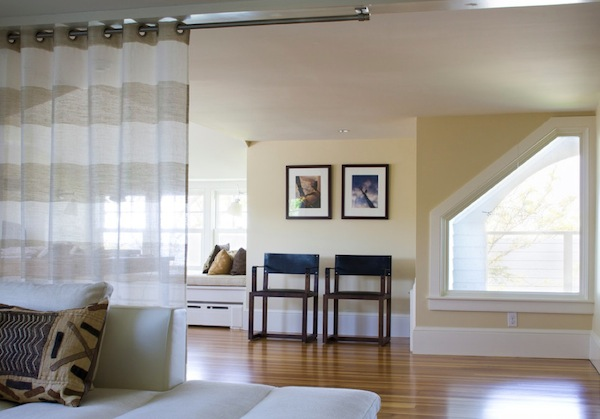 Декоративная перегородка штора