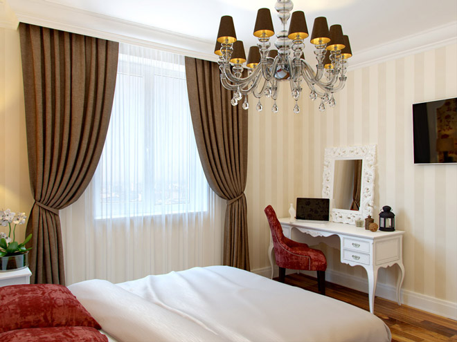 Современный интерьер спальни