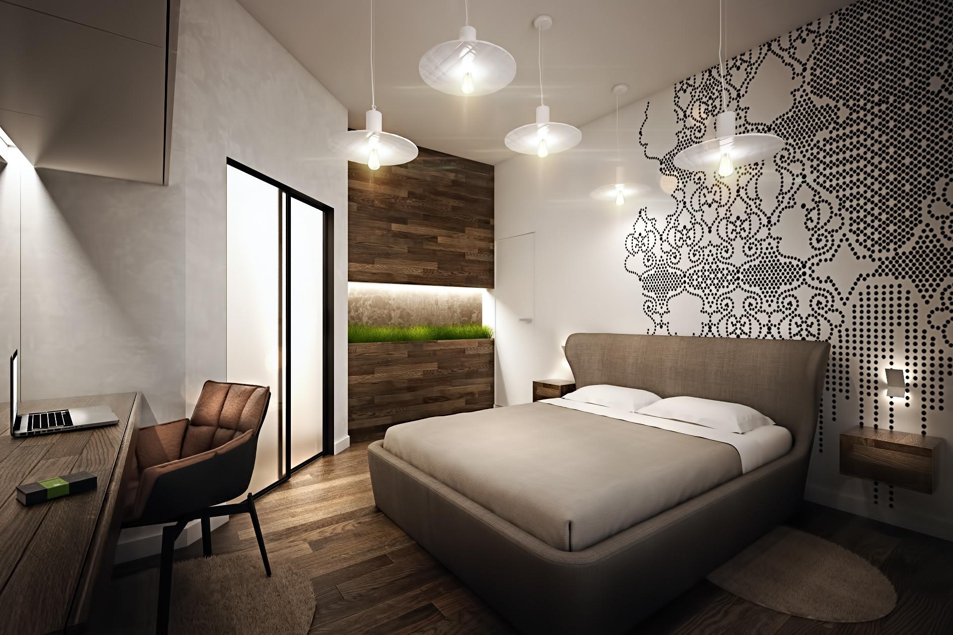 Пастельные тона в интерьере спальни - фото 2