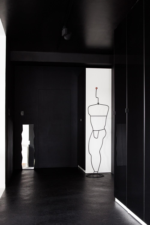 Интерьерные принты в дизайне Black&White Studio в Познани